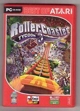 RollerCoaster Roller Coaster Tycoon 3 parque de diversiones simulación juego PC