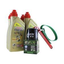 Öl Wechselset 4 Liter Castrol SAE 20W-50 Act evo 4T mineralisch inkl. Ölfilter H