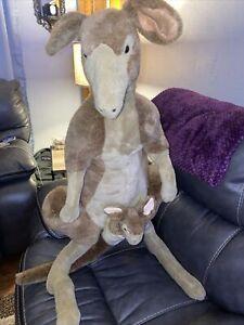 Melissa and Doug Kangaroo Baby Joey Plush Stuffed Animal 36'' Tall 3 Feet #3488