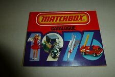 Matchbox Collector's Catalog 1976 edition w/ Official Drivers License/Lesney