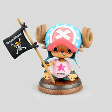 One Piece chopper wave flag figure figures Set of 8pcs doll Toy anime collect
