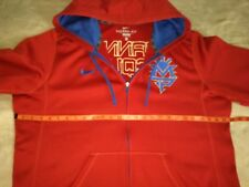 MANNY PACQUIAO NIKE Therma-Fit Zip Up KO Hoodie (Jacket, Boxing, Pac Man, Knows)