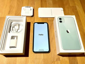 Apple iPhone 11 - 128GB - Green (Unlocked, Verizon SIM) A2111