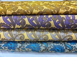 New Soft Jacquard Brocade Floral Weave Dress/Craft/Cushion Fabric*FREE P&P