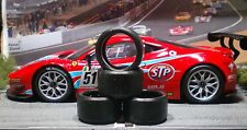 1/24 PAUL GAGE URETHANE SLOT CAR TIRES 2pr fit Carrera D124 Ferrari 458 & 599XX