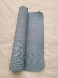 Sky blue yoga mat