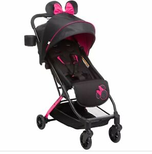 Baby Stroller Single Ultra Compact Travel Minnie Mouse Pink