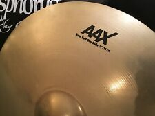 "Sabian 21"" AAX Raw Bell Dry Ride Cymbal - Fantastic Condition"