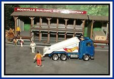 Hot Wheels _ HO Scale _ Blue Ramp Tow Truck _ ** Must See **