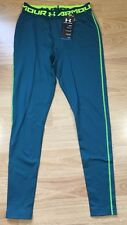 NEW!! Under Armour Compression Pants Men's Size Large Blue Neon Yellow