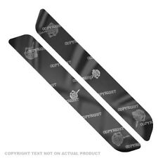 Saddlebag Reflector Decals For 93-13  Harley - GREY SKULL FINGER FU - 153