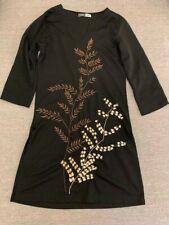 In good condition Vietnam Black Long Sleeve Dress *Free Post