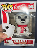 Funko Pop! Ad Icons Coca Cola Polar Bear Vinyl Special Edition Vinyl Figure #58