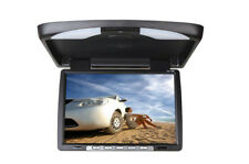 "35,6 cm Deckenmonitor 14"" TFT LCD MONITOR Flipdown IR Auto KFZ PKW DVD DVBT"