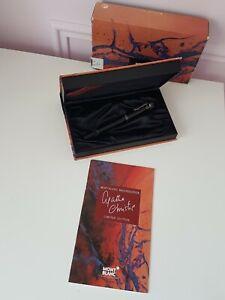 Montblanc Agatha Christie Fountain Pen Limited Edition