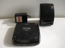 SONY D-33 Discman CD Player + SRS 38 (1)