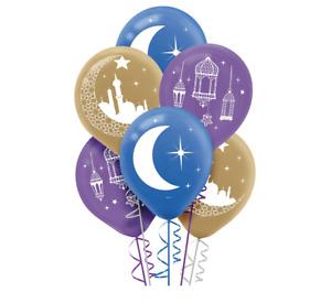 Eid Celebration Latex Balloons (15ct) Eid Ramadan Islamic Festival Decorations