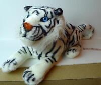 Bengal White Wild Tiger Animal Plush Toy