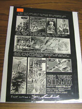 Teenage Mutant Ninja Turtles Adventures sourcebook - Orig. Negative  pg. 25