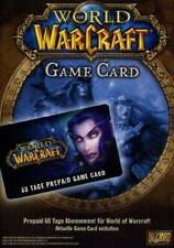 World of Warcraft 60 Tage Gamecard/Game Time Card