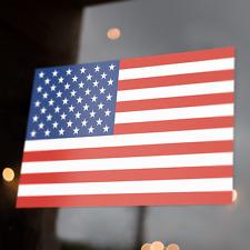 "Us American Flag Decal | 5x3"" Sticker | United States Usa America"