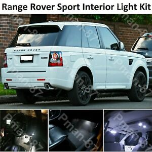 For DELUXE RANGE ROVER SPORT 2005-2013 LED INTERIOR KIT LIGHTS WHITE BULBS
