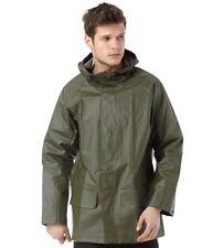 Helly Hansen Mens Mandal Hooded Jacket Size M  Green  Waterproof Coat workwear