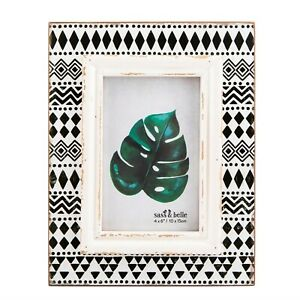 Sass and Belle Scandi Boho Geo Photo frame 4 x 6