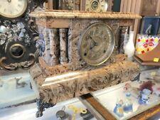 New ListingBeautiful Antique Seth Thomas Bronze Marble Adamantine Chime Mantle Clock