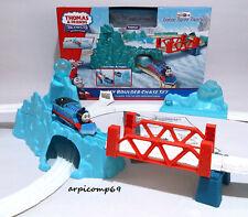 Sodor Snow Storm ICY BOULDER CHASE SET - TOMY TrackMaster Thomas Motorized Train