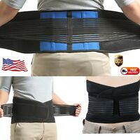 Adjustable Neoprene Back Support Slimming Belt Sport Waist Brace For Women Men D