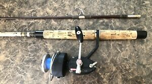 Mitchell 510 Combo Rod N Reel Combo Vintage Spinning Reel Scarce Set