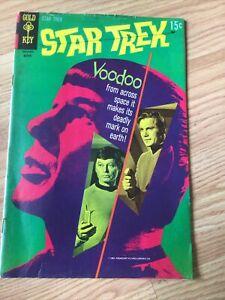 STAR TREK GOLD KEY SILVER AGE COMIC #7 Good Photo Cover 1969