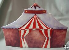 """MADE BY GOEBEL """"PORCELAIN CIRCUS TENT"""" 13140 NO BOX"""