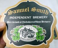 Samuel Smith Independent Brewery  Bar Coaster Beer  lot of 2 Free Shipping USA