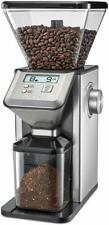 CUISINART CBM-20 Deluxe Conical Burr Mill Grinder, Silver
