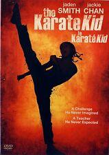 USED DVD // MARTIAL ARTS // THE KARATE KID // Jaden Smith, Jackie Chan, Taraji P