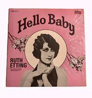 Hello Baby Ruth Etting Blp C 11 Lp