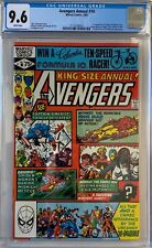 Avengers Annual #10 CGC 9.6 1st appearance of Rogue!KEY ISSUE!L@@K!