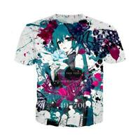 2016 Newest Fashion Womens//Mens Fairy Tail Cool 3D Print Casual T-Shirt YE8