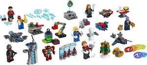 LEGO:Marvel Avengers Advent calendar (76196). Minifigures &. Micro builds.
