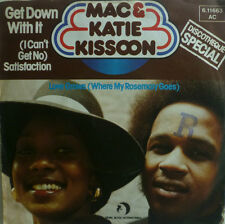 "7"" 1976 ! MAC & KATIE KISSOON : Get Down With It /VG++"