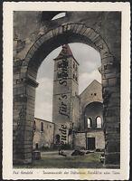 130 O AK Ansichtskarte Bad Hersfeld  Innenansicht Stiftsruine Durchblick z. Turm