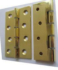 """Door Hinges Solid Brass  4"""" x 2-5/8"""""""