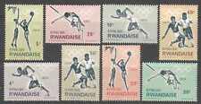 Rwanda 1964 Olympics/Football/Sport 8v set (n22429)