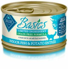 Blue Basics Limited Ingredient Diet Adult Indoor Grain Free Fish Potato Wet Cat