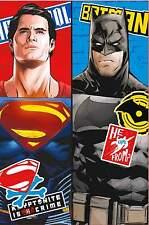 NEUF BATMAN Vs SUPERMAN CHOC COUVERTURE COUVRE-LIT POLAIRE - EXTRA DOUX VESTE