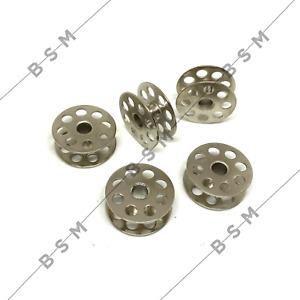 High Quality Steel Bobbins X 5  JUKI 1541 Walking Foot Industrial Sewing Machine