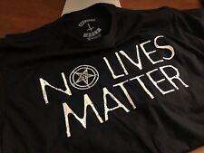 No Lives Matter tee shirt