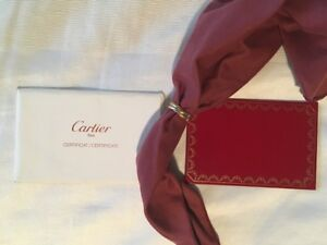 CARTIER 750 18K ROLLING RING 3 BANDS (TRI COLOR YELLOW, WHITE, ROSE GOLD) SIZE:6